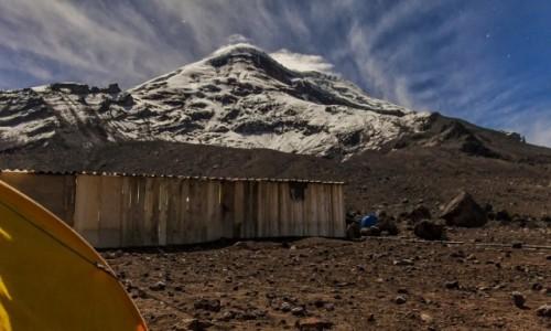 Zdjecie EKWADOR / - / Chimborazo / Przed wyjściem na Chimborazo