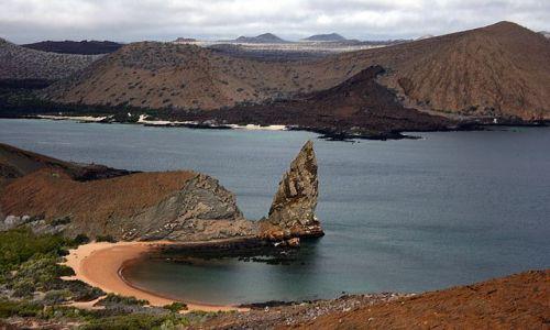 Zdjęcie EKWADOR / brak / Galapagos / krajobraz wysp wulkanicznych