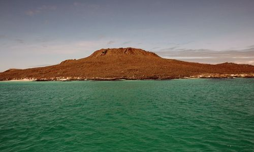 Zdjęcie EKWADOR / brak / Galapagos / chiński kapelusz - wulkan