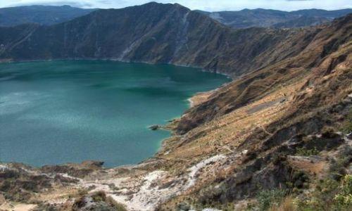 Zdjecie EKWADOR / brak / Okolice Latacungi / Laguna Quilotoa