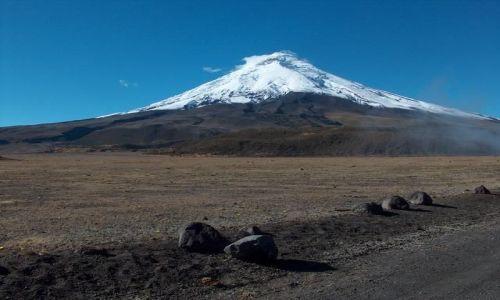 Zdjecie EKWADOR / brak / Park Narodowy Cotopaxi / Wulkan Cotopaxi 5897m n. p. m.