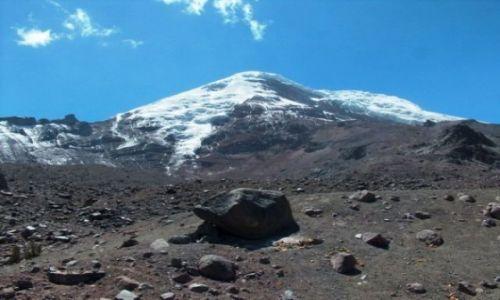 Zdjecie EKWADOR / brak / Rezerwat Chimborazo / Wulkan Chimborazo 6310m n. p. m.
