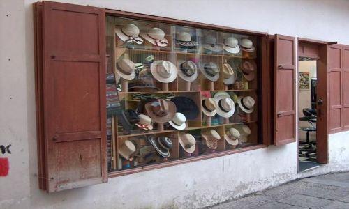 Zdjecie EKWADOR / brak / Cuenca / Kapelusze panama