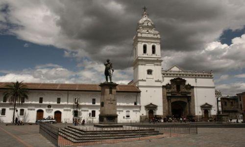 Zdjęcie EKWADOR / - / Quito / kosciol