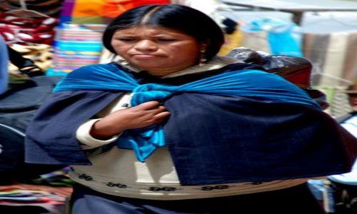 EKWADOR / Otavalo / targ w Otavalo / na targu w Otavalo