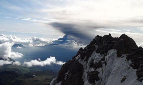 Zdjęcie EKWADOR / Ambato / Tungurahua / Diabelska Gardziel już nie śpi