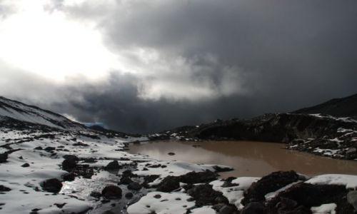 Zdjecie EKWADOR / Ekwador / Antisana /  spacer na lodo