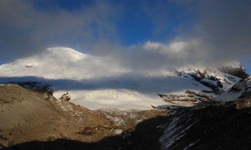 EKWADOR / Ekwador / Antisana / Słońce na Antisanie budzi nasze wielkie nadzieje