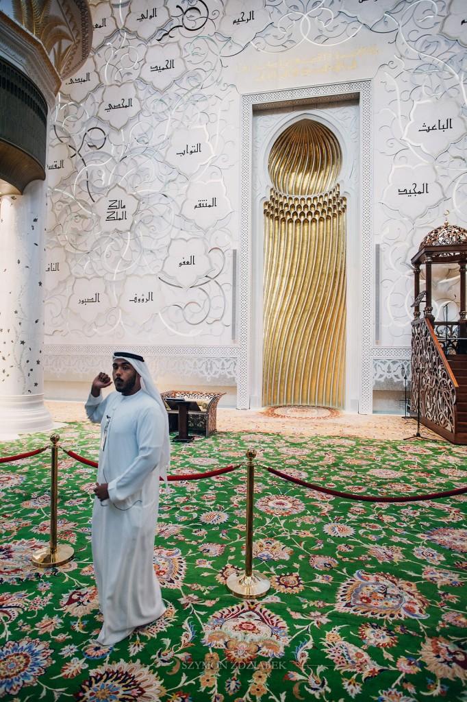 Zdjęcia: Abu Dhabi, Sheik Zayed Grand Mosque, ZJEDNOCZONE EMIRATY ARABSKIE