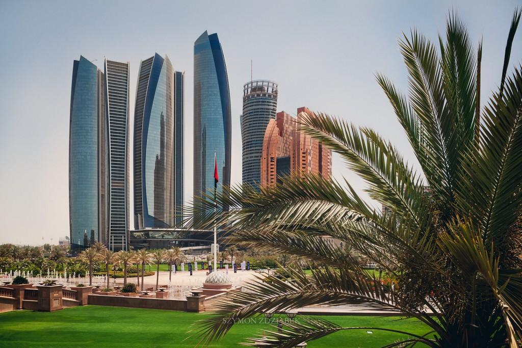 Zdjęcia: Abu Dhabi, Etihad Towers, ZJEDNOCZONE EMIRATY ARABSKIE