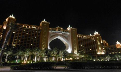 Zdjecie ZJEDNOCZONE EMIRATY ARABSKIE / Dubai / Palm Island / Atlantis - Palm Island, Dubai