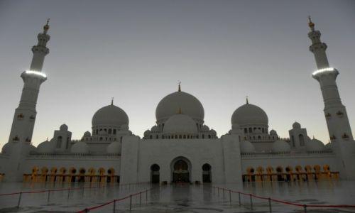 Zdjęcie ZJEDNOCZONE EMIRATY ARABSKIE / ABU DHABI / Sheikh Zayed Grand Mosque  / Sheikh Zayed Grand Mosque