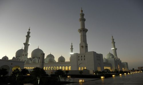 Zdjecie EMIRATY ARABSKIE / ABU DHABI / Sheikh Zayed Grand Mosque  / Sheikh Zayed Gr
