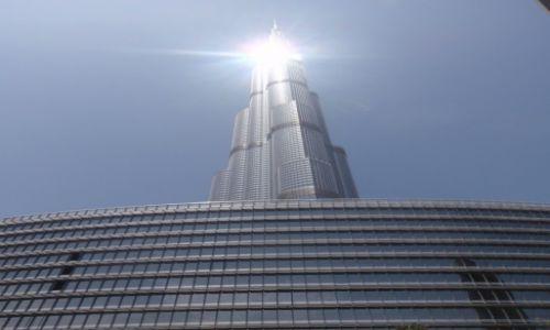 Zdjęcie ZJEDNOCZONE EMIRATY ARABSKIE / DUBAJ / Burdż Chalifa  / Najwyższy obecnie budynek Świata Burdż Chalifa