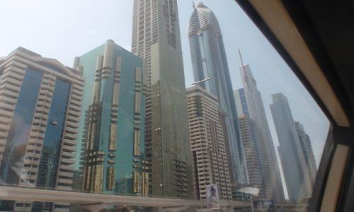 Zdjęcie ZJEDNOCZONE EMIRATY ARABSKIE / DUBAJ / Nowoczesne dzielnice Dubaju to sam beton / Nowoczesna betonowa dzielnica Dubaju