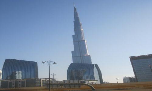 Zdjęcie ZJEDNOCZONE EMIRATY ARABSKIE / Dubaj / Dubaj / Dubaj  -  Burj Khalifa