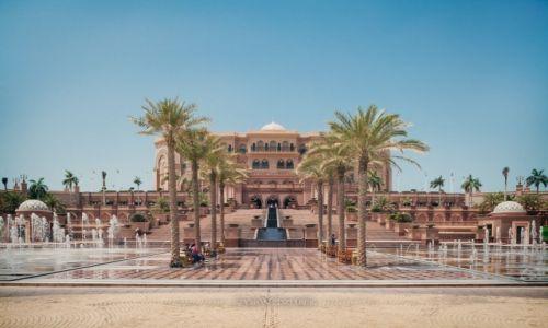 Zdjęcie ZJEDNOCZONE EMIRATY ARABSKIE / Abu Dhabi / Emirates Palace / Luksus
