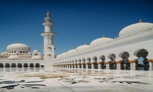 Zdjecie ZJEDNOCZONE EMIRATY ARABSKIE / Abu Dhabi / - / Sheik Zayed Grand Mosque