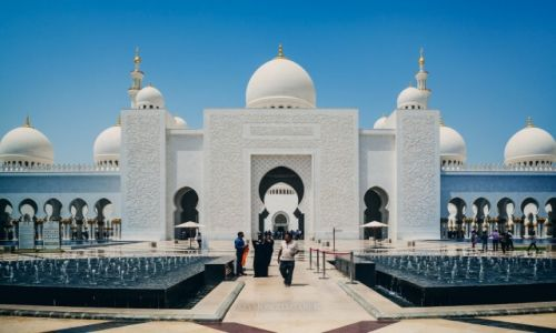 Zdjęcie ZJEDNOCZONE EMIRATY ARABSKIE / Abu Dhabi / - / Sheik Zayed Grand Mosque
