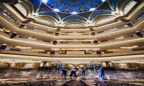 Zdjęcie ZJEDNOCZONE EMIRATY ARABSKIE / Abu Dhabi / - / Emirates Palace