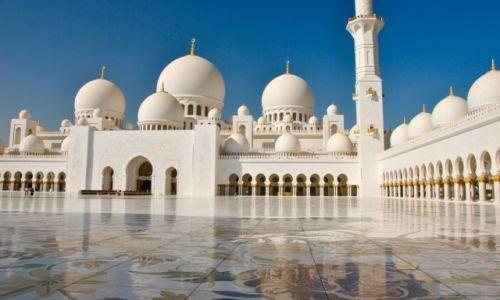 Zdjęcie ZJEDNOCZONE EMIRATY ARABSKIE / Abu Dhabi / Abu Dhabi / Meczet Szejka Zayeda