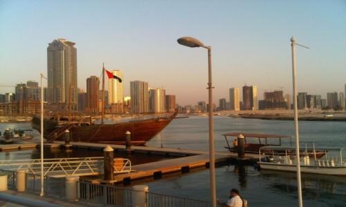 Zdjecie ZJEDNOCZONE EMIRATY ARABSKIE / Sharjah / Port / Port