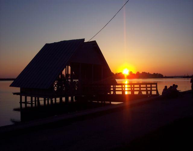 Zdjęcia: Haapsalu, Zachód słońca, ESTONIA