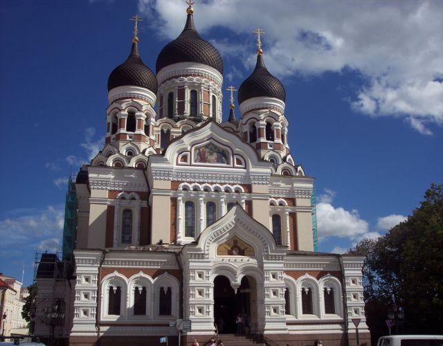 Zdjęcia: Tallinn, cerkiew, ESTONIA