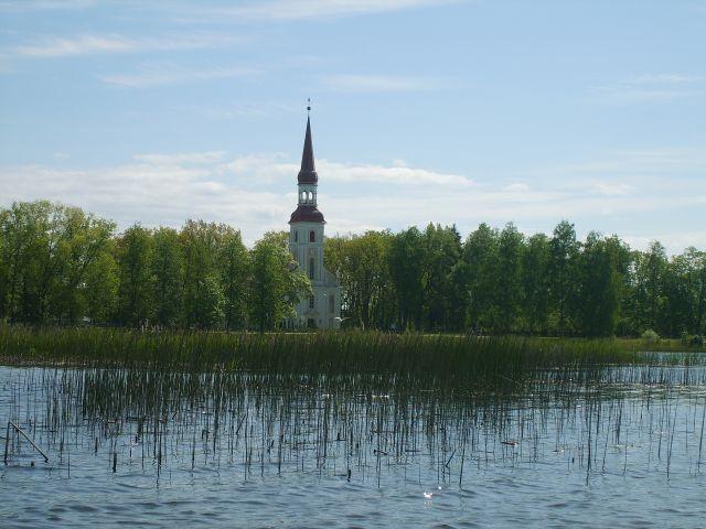 Zdjęcia: Vohandu/Rapina, Południo-wschodnia Estonia, Kościółek, ESTONIA