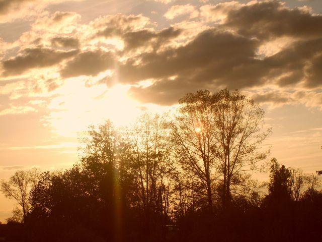 Zdjęcia: Voopsu, Południowo-wchodnia Estonia, Zachód słońca w Voopsu, ESTONIA