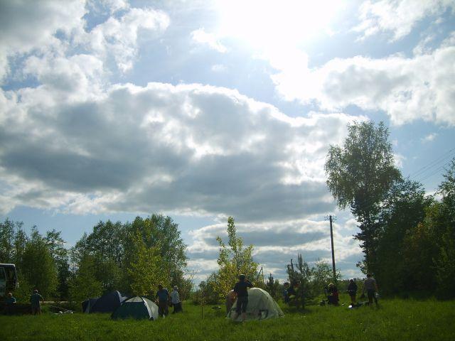 Zdjęcia: Vohandu, Południowo-wschodnia Estonia, Biwak, ESTONIA