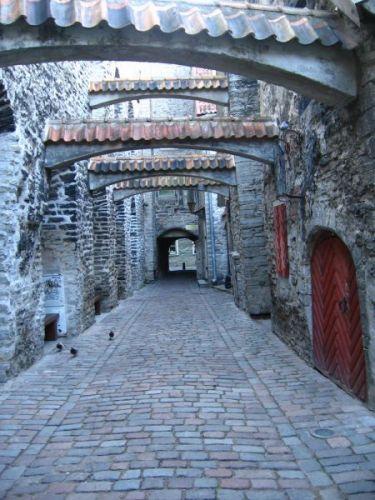 Zdjęcia: tallin, zaułek katarzyny, ESTONIA