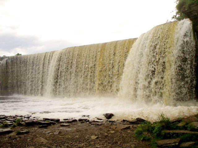 Zdjęcia: Jagala, Rebala, Wodospad Jagala, ESTONIA
