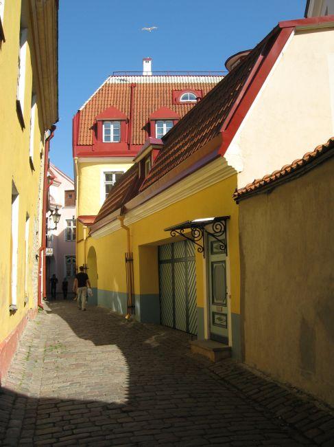 Zdjęcia: Tallin - Stare Miasto, Tallin, Uliczka, ESTONIA