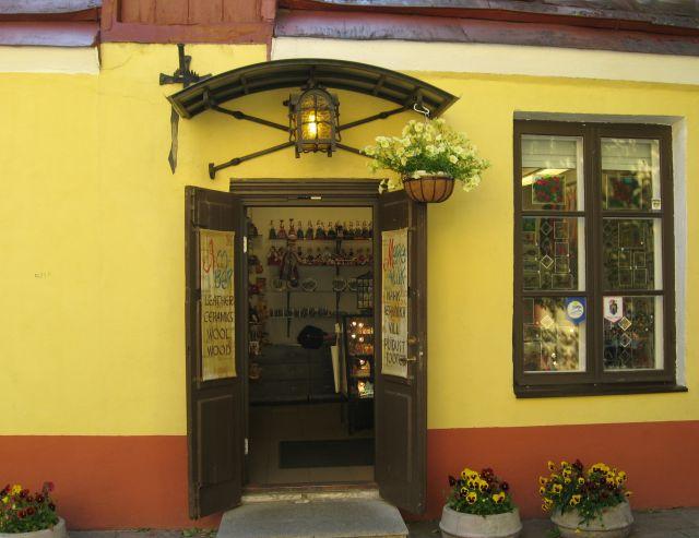 Zdjęcia: Tallin - Stare Miasto, Tallin, Sklepik zaprasza, ESTONIA