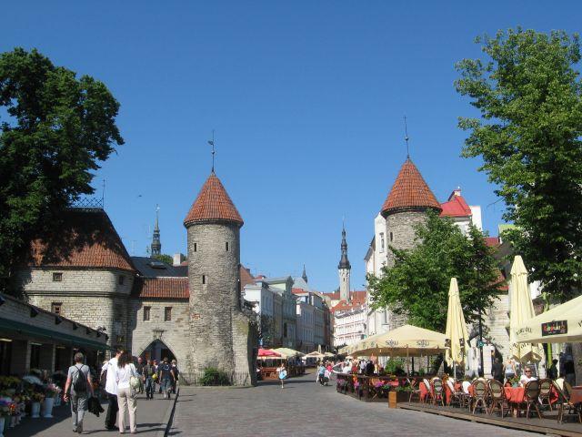 Zdjęcia: Tallin - Stare Miasto  , Tallin, Ulica Viru, ESTONIA