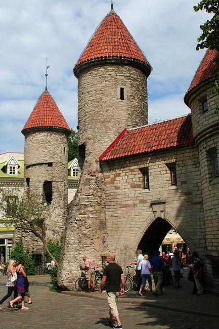 Zdjęcia: Tallin, Brama miejska w Tallinie, ESTONIA