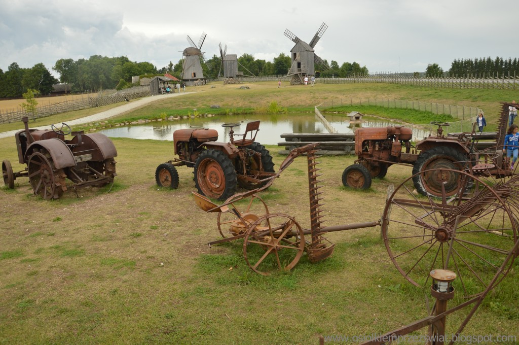 Zdjęcia: Muzeum wiatraków, Saaremaa, wyspa wiatraków, ESTONIA