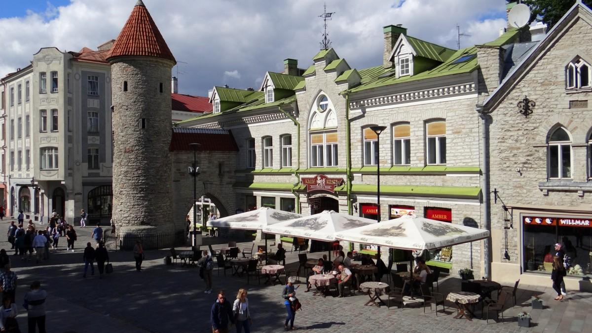 Zdjęcia: Tallinn, Harjumaa, Viru Väravad, ESTONIA