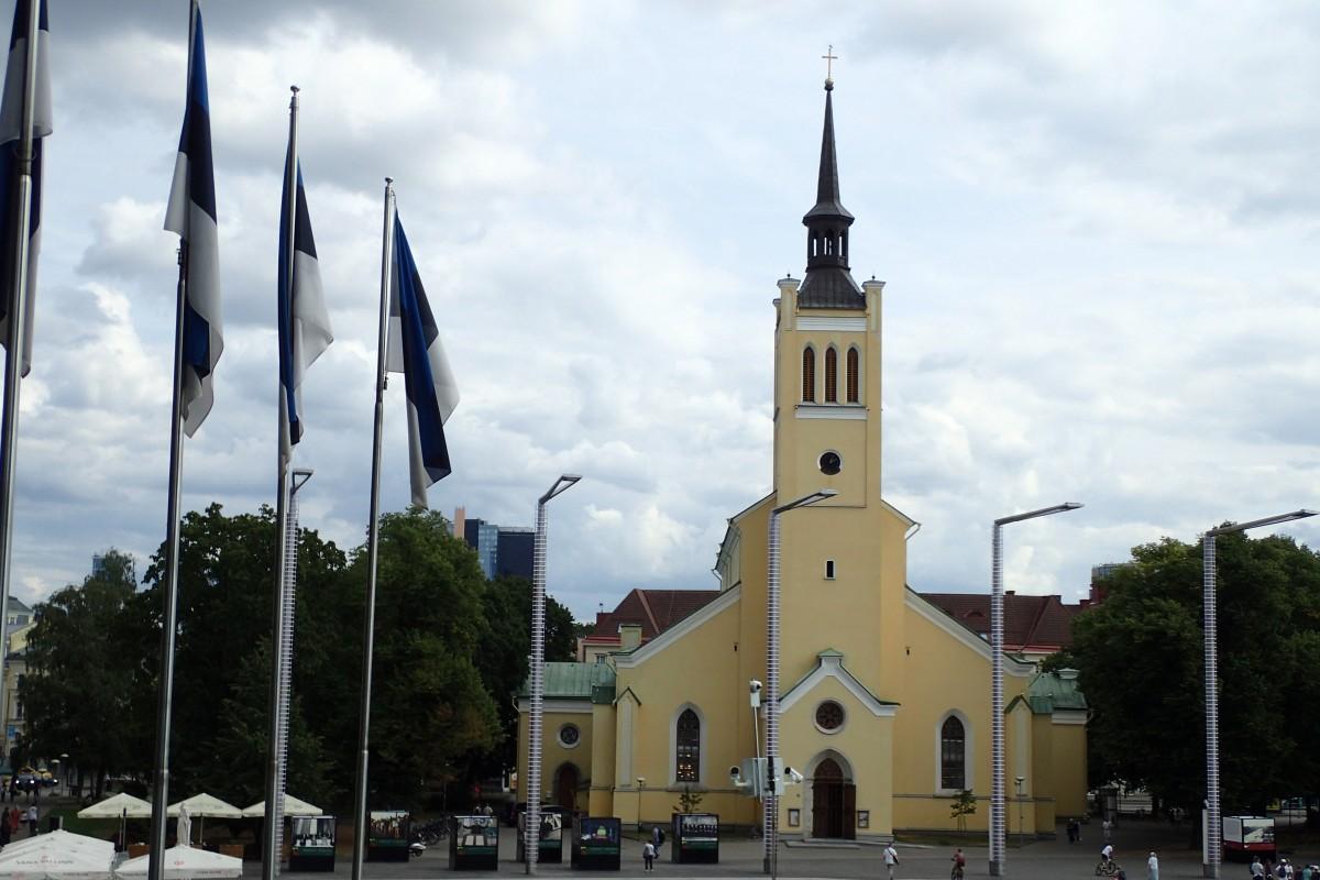 Zdjęcia: Tallinn, kościół  św Jana Ewangelisty, ESTONIA