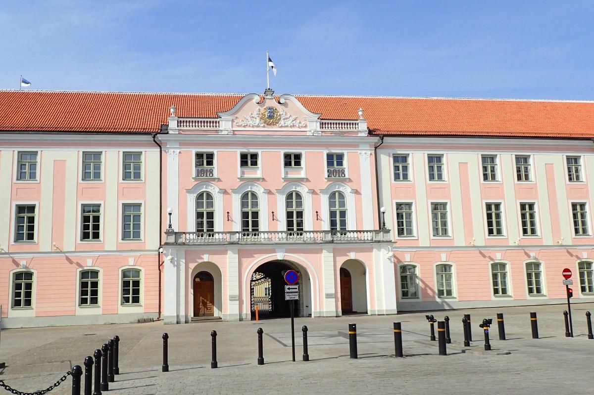 Zdjęcia: Tallinn, Zamek Toompea, ESTONIA