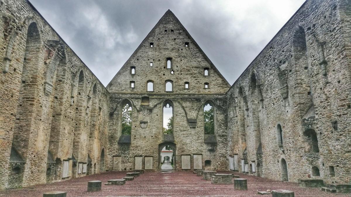 Zdjęcia: Pirita Convent Ruins, Tallin, Ruins..., ESTONIA