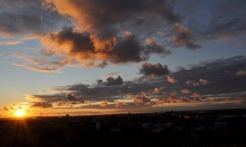 Zdjecie ESTONIA / Tallinn / Tallinn / Zachód słońca