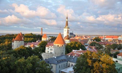 ESTONIA / Tallinn / Tallinn / STARE MIASTO