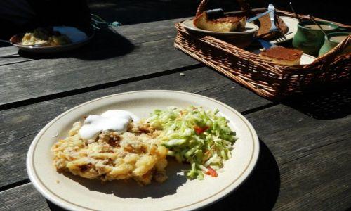 ESTONIA / - / Tallin / Jedzenie w Rocca Al Mare (Tallin)