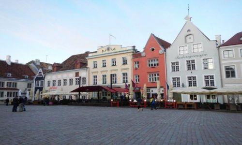 Zdjecie ESTONIA / - / Tallin / Starówka - plac główny (Tallin)