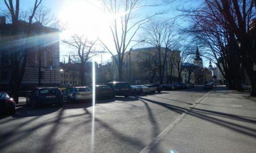 Zdjecie ESTONIA / - / Tallin / Ulica w okolicach Starego Miasta (Tallin)