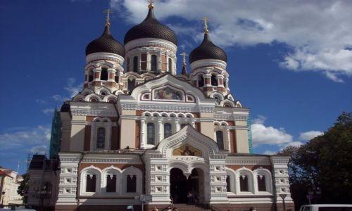 Zdjecie ESTONIA / brak / Tallinn / cerkiew
