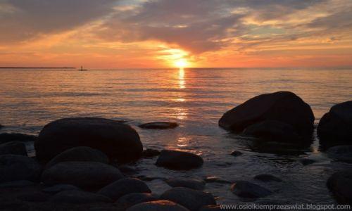 Zdjęcie ESTONIA / Mustoja / Mustoja Vainupea / zachód słońca