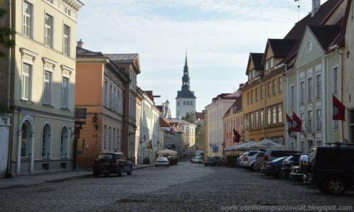 Zdjęcie ESTONIA / Tallin / Tallin / uliczka w Tallinie